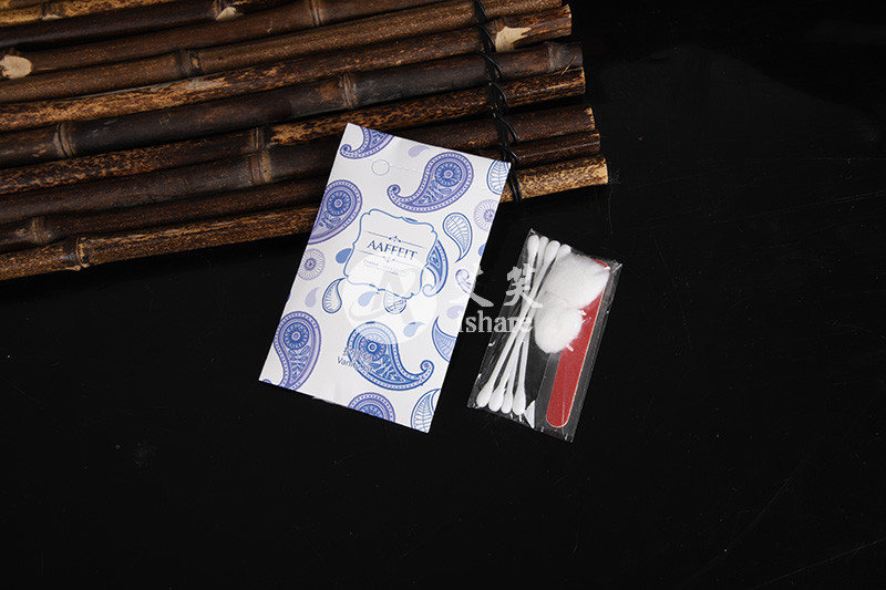 蓝色花纹系列酒店用品套装产品展示