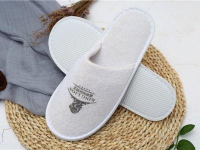毛巾布一次性拖鞋