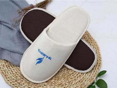帆布一次性拖鞋