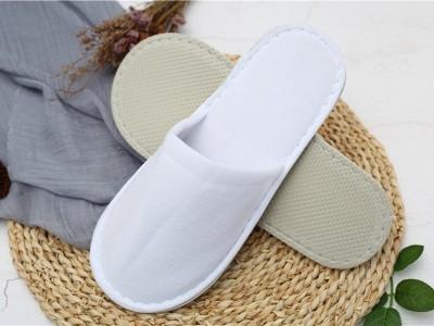 纯白真美布一次性拖鞋
