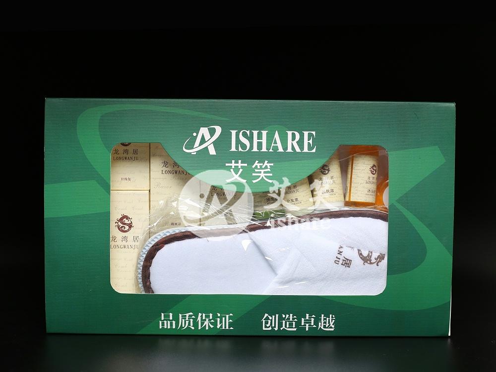 酒店用品英文卡盒套装